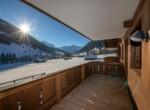 Balkon Winter Grund